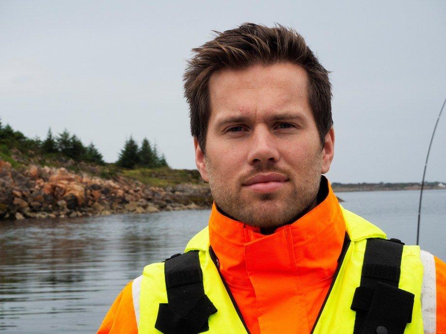 Andreas Skagøy er ny fiskehelsesjef i Måsøval Fiskeoppdrett og sier han ser frem til å være en langsiktig pådriver for et godt, helhetlig fiskehelsearbeid. Foto: Kristina Kaald.