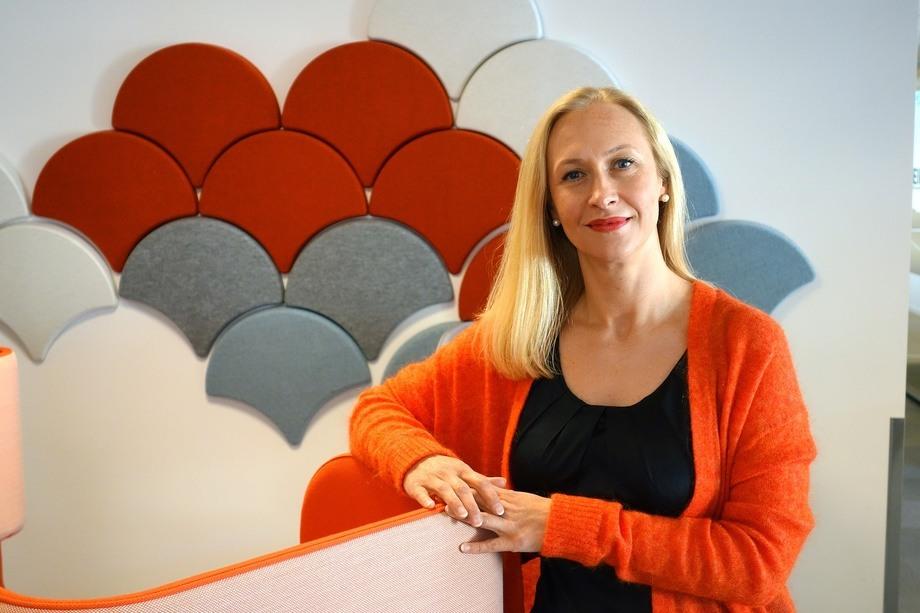 Renate Lasen oppsummerer eksportåret 2018 og sier hun tror på nye rekorder i 2019. Foto: Marit Rein.