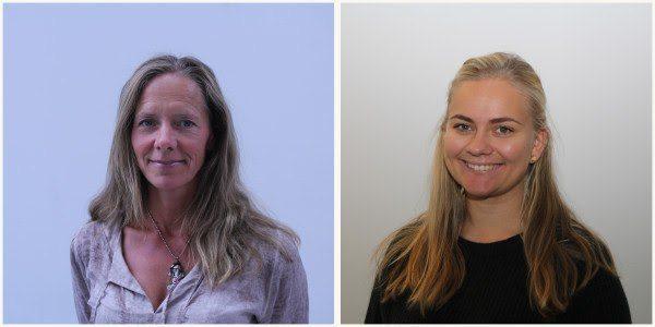NIVA-forskerne Marianne Olsen (t.v.) og Inger Lise Nerland Bråte disputerer begge for doktorgrad. Foto: Niva