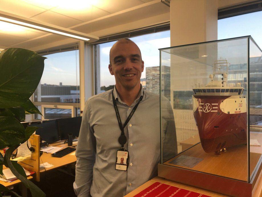 - Equinor forventer stabil etterspørsel for supplyskip i 2019, sier Morten Sundt i Equinor til Skipsrevyen. Foto: Vidar Hardeland.
