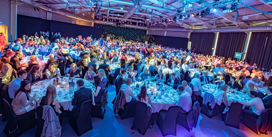 The awards night at Aquaculture UK 2018 was such a success that the awards will be held annually. Photo: 5m Publishing.