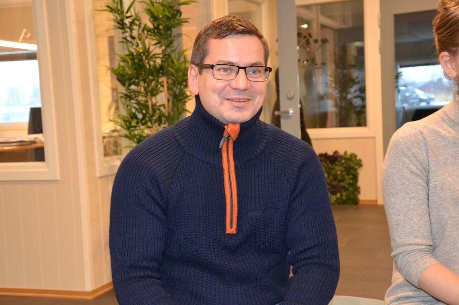 Roy Emilsen, daglig leder i Emilsen Fisk er veldig positiv til innføringen av trafikklyssystemet. Foto: Ole Andreas Drønen/Kyst.no.