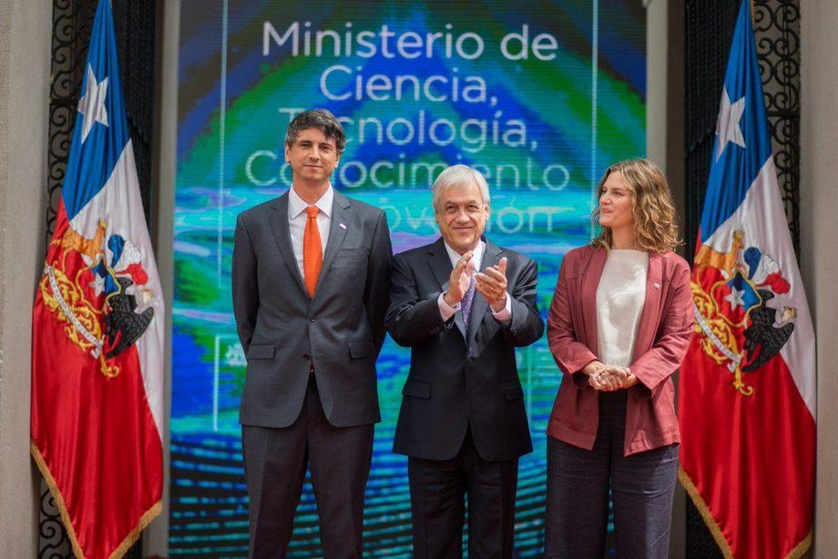 Andrés Couve liderará el nuevo ministerio, cuya subsecretaria será Carolina Torrealba. Foto: Gobierno de Chile.