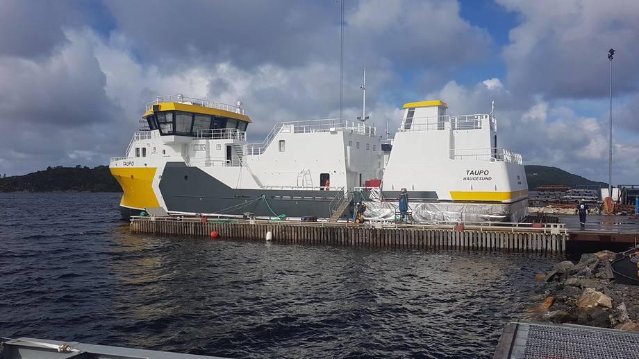 El nuevo barco de cosecha MS Taupo del grupo Amar Shipping está próximo a inaugurarse. Foto: Grupo Amar Shipping.