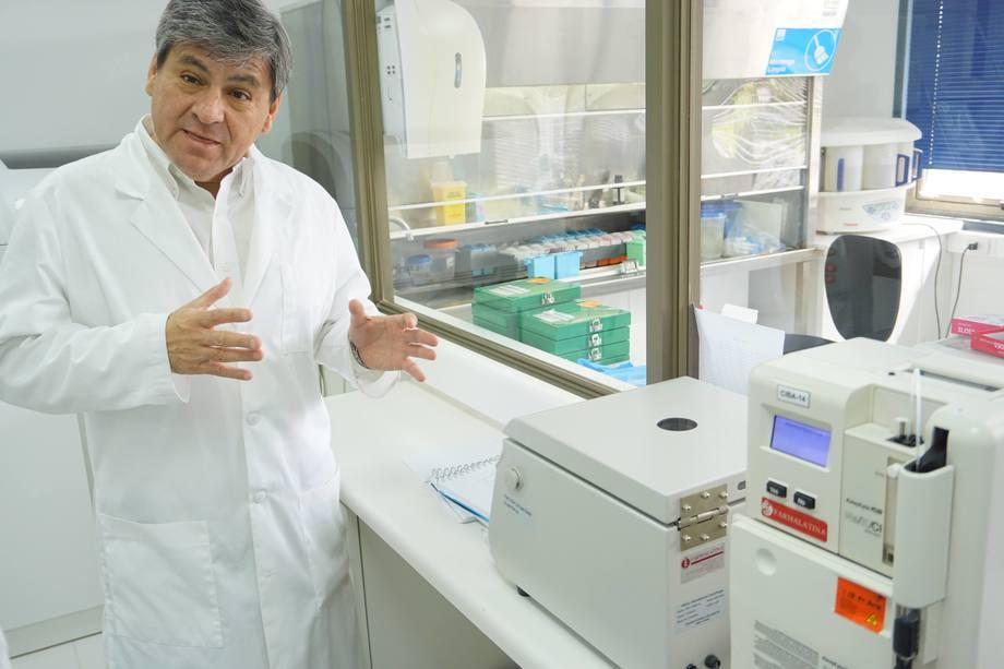 Imagen referencial de laboratorio de biotecnología aplicada de la USS. Foto: USS.
