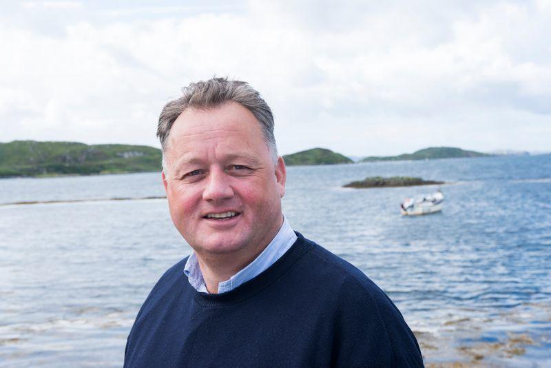 Loch Duart managing director Alban Denton:
