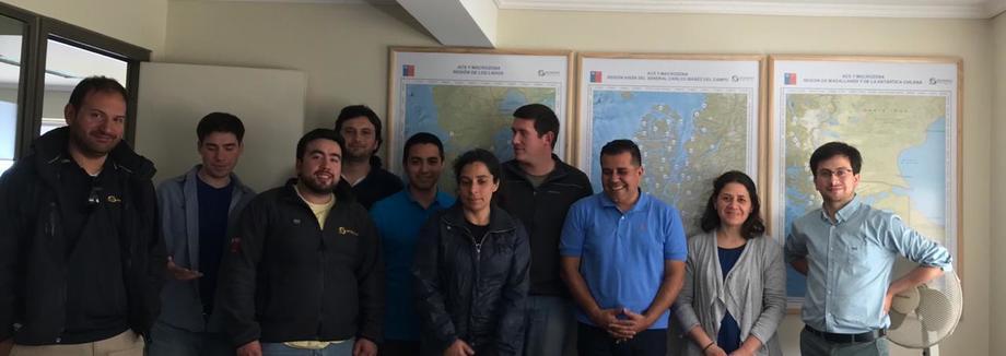 Funcionarios de la dirección regional de Los Lagos asistentes a la asesoría técnica. Foto: Rubén Avendaño-Herrera.