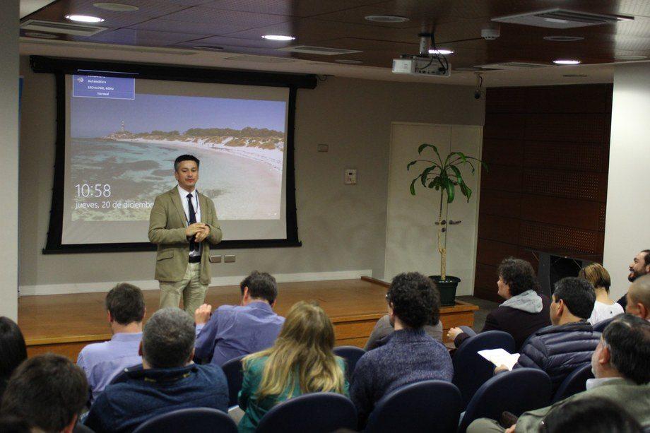 El director (s) de Sernapesca Los Lagos, Branny Montecinos, preside el CIICA. Foto: Sernapesca Los Lagos.