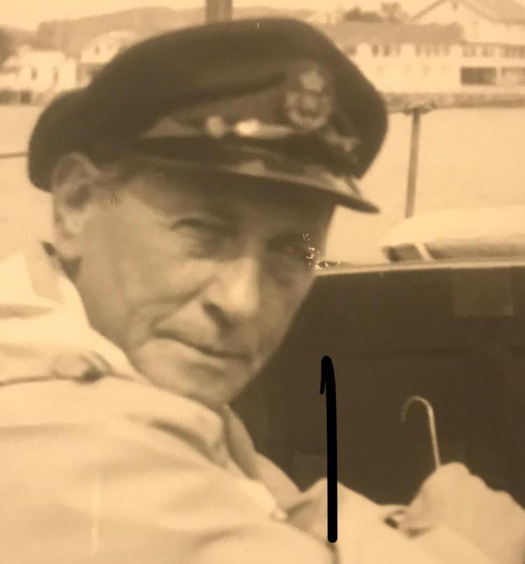 - Mitt svar ble selvfølgelig absolutt nei, forteller skipsreder Georg von Erpecom. Foto: Tilhører familien.