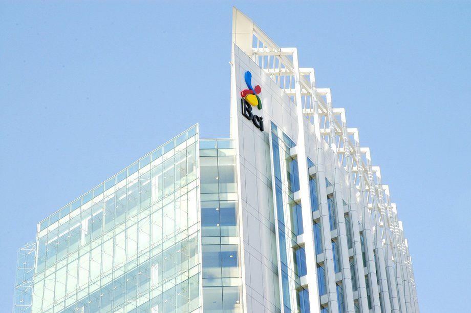 Imagen del edificio corporativo de Banco BCI. Foto: Banco BCI.