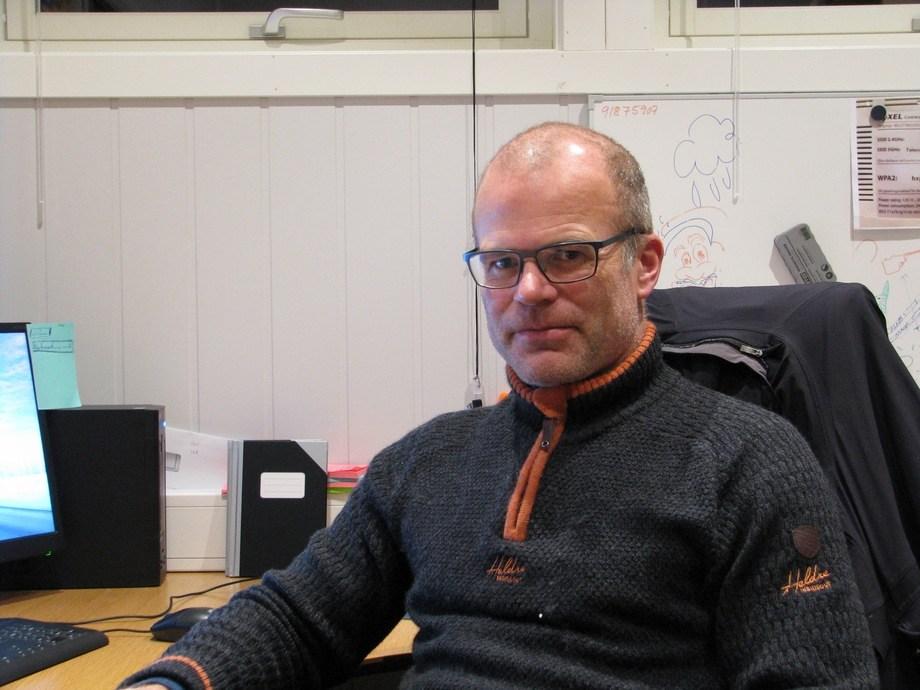 Magnar Terje Leknes er ny dagleg leiar i Flokenes Fiskefarm, og byrja i den nye jobben 1.januar. Foto: Flokenes Fiskefarm.