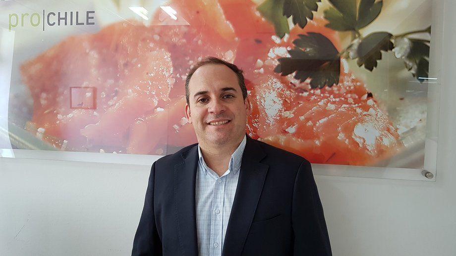 Andrés Díaz, jefe del Subdepartamento de Agro&Alimentos de ProChile. Foto: ProChile.