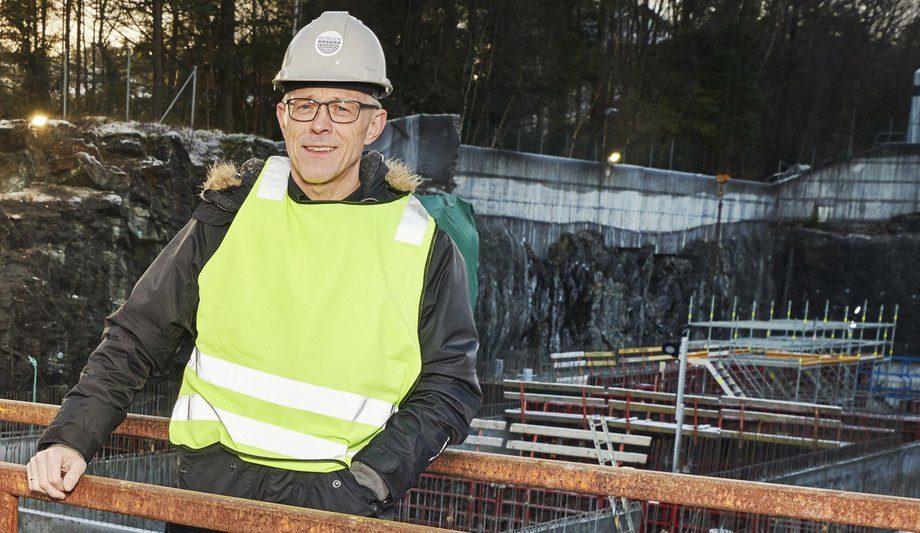 Daglig leder Øyvind Risnes konstaterer at Bergen Group Sjøsterk på kort tid har fått et sterkt fortfeste i markedet. Foto: Bergen Group Sjøsterk.