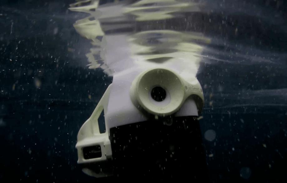 Droneteknologien til SeaSmart krever ingen kabler eller andre ledninger, og er designet for å være lett å håndtere. Foto: SeaSmart.