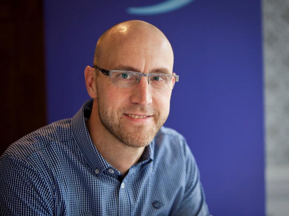 Håvard Jørgensen har tatt over sjefsstolen i BioMar Norge, og sier han ser frem til å utvikle og jobbe videre med gjengen i BioMar Norge. Foto: BioMar.