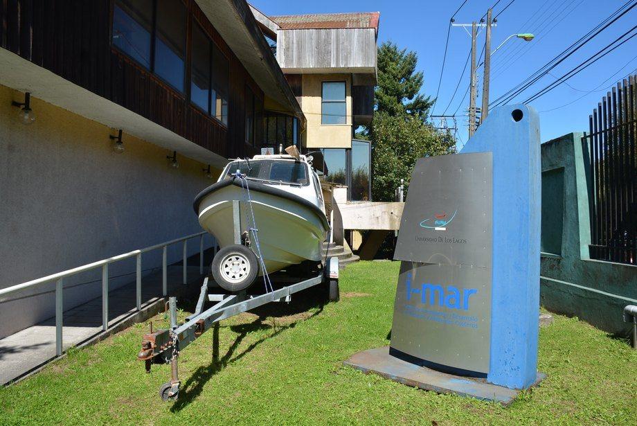 Foto referencial del Centro de Investigación i~mar. Foto: Universidad de Los Lagos.