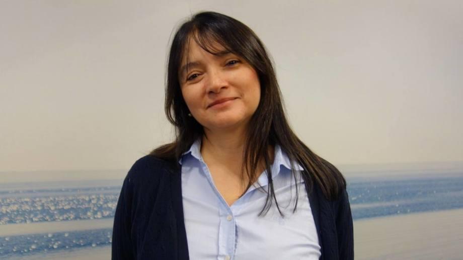 Patricia Apablaza kommer opprinnelig fra Chile og har tatt en doktorgrad rundt genetisk diversitet i bakterien som forårsaker flavobacteriose.