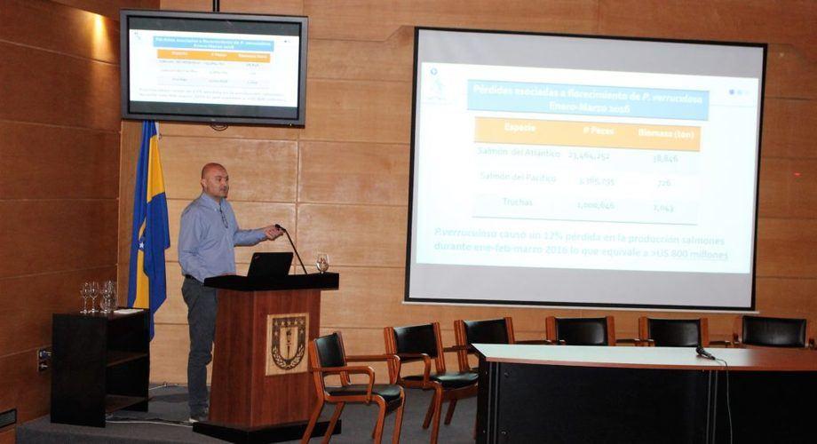 Dr. Rodrigo Montes, investigador del Incar. Foto: Incar.
