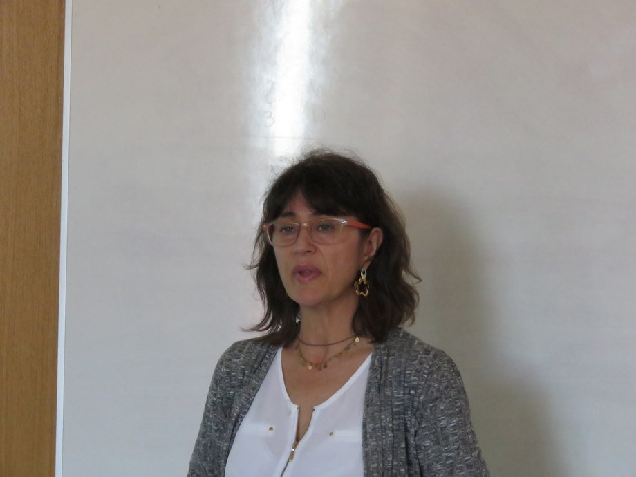 Dra. Sandra Marín. Foto: Francisco Soto, Salmonexpert.