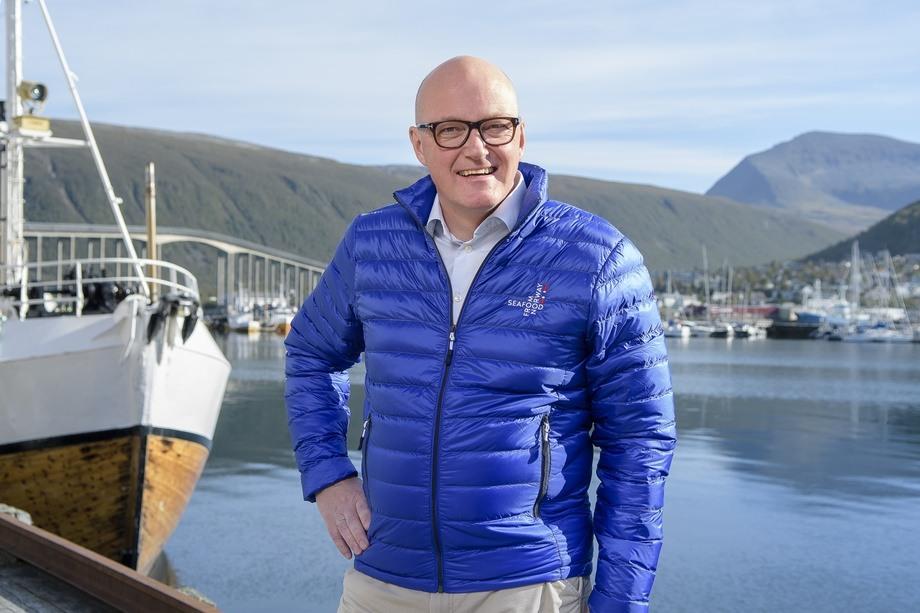 Hans Frode Kielland Asmyhr, Sjømatrådets fiskeriutsending i Storbritania mener arrangementet er viktig for å belyse hva sjømatnæringen har i vente i forhold til Brexit. Foto: Norges sjømatråd.
