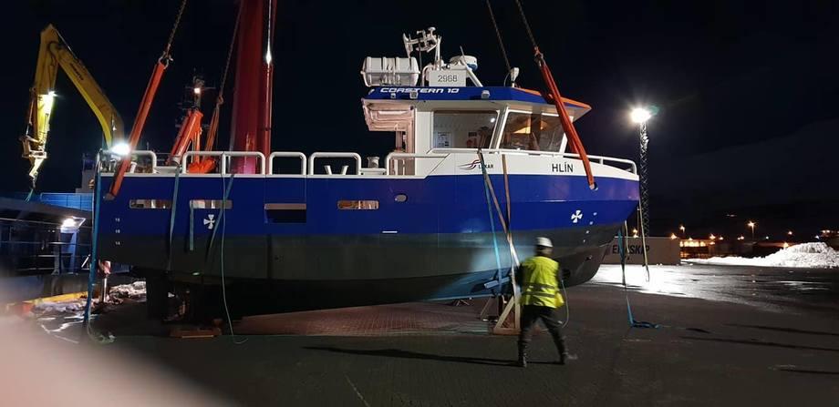 Laxars nyeste fartøy i flåten er av typen Coster 10, og er bygget av Vard Aukra. Foto: Laxar.