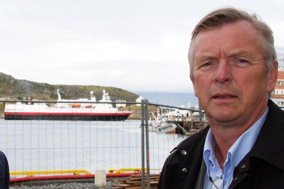 - Vi er veldig skuffet over VARD og Tersan som ikke har klart å levere nye ferger som lovet, sier administrerende direktør i Torghatten, Torkild Torkildsen. Foto: Rana Blad.