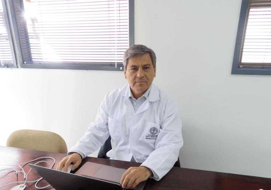 Dr. Marcos Godoy, director del Laboratorio de Biotecnología Aplicada. Foto: Francisco Soto, Salmonexpert.