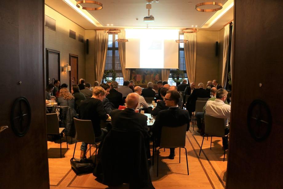 Maritime Bergen og Norsk Gassforum avholdt seminar i Bergen denne uken om bruk av gass i skipsfart. Foto: Vibeke Blich