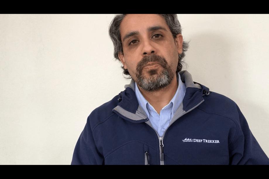 Cristian Aguilera, nuevo gerente de Desarrollo de Negocios para Latinoamérica, anunciado por Deep Trekker. Foto: Deep Trekker.