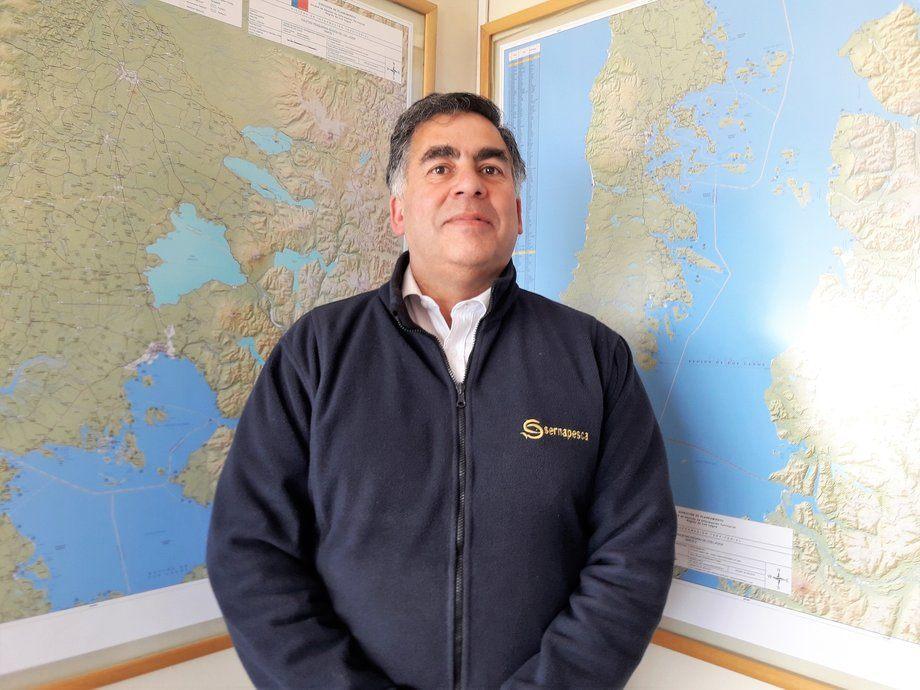 Eduardo Aguilera, director regional de Sernapesca. Foto: Archivo Salmonexpert.