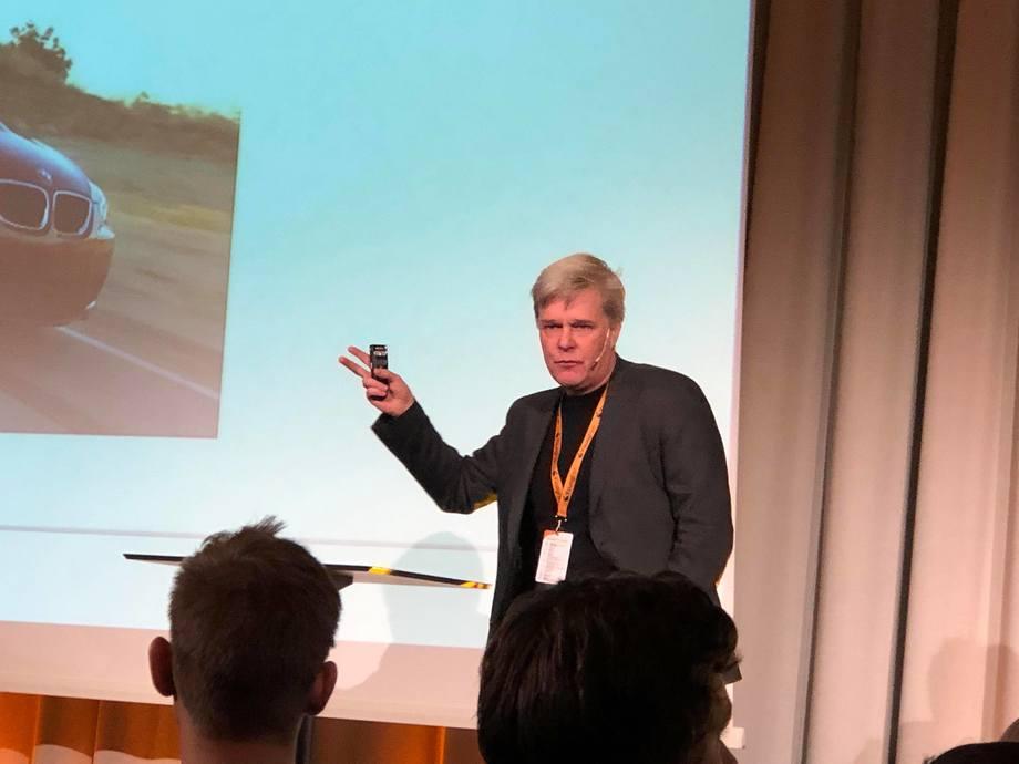 Jon Arne Grøttum sier man må tenke mer proaktivt og mer globalt fremover. Foto: Kyst.no.