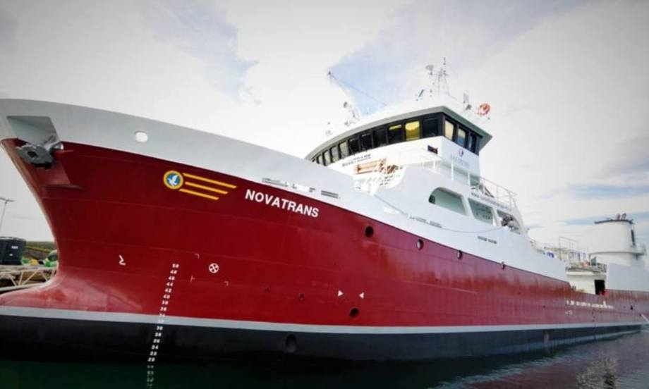 MS Novatrans. Foto: Norsk Fisketransport.