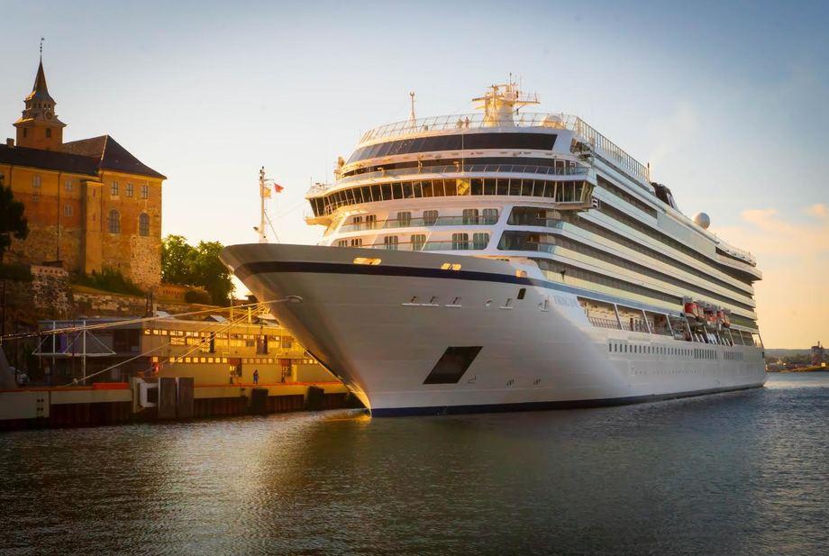 Den sterke veksten i cruisetrafikken er ikke forenlig med Oslo som miljøby, hevder kritikere. Foto: Oslo havn.