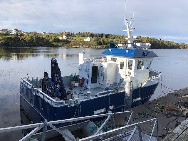 Fossekall er et av de tidligere fartøyene levert til Håløy Havservice. Havbruksselskapet melder de igjen har valgt gå til innkjøp av nok et fartøy hos Folla Maritime. Foto: Folla Maritime