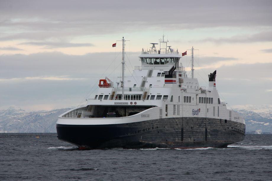 Survitec får ny serviceavtale med Fjord 1. Foto: Sigbjørn Larsen.