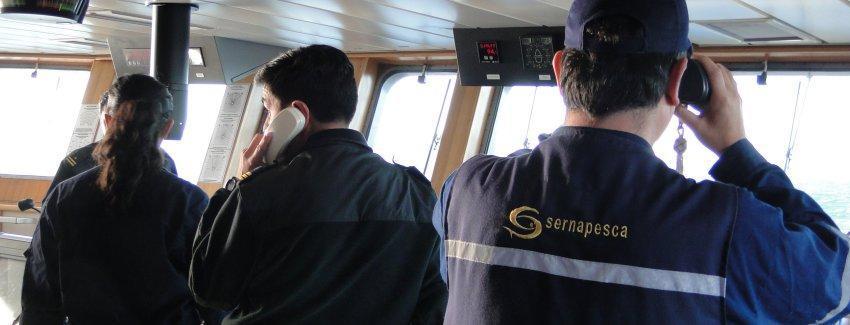 Las facultades y herramientas fiscalizadoras de Sernapesca crecen con el nuevo marco legal. Foto: Sernapesca.