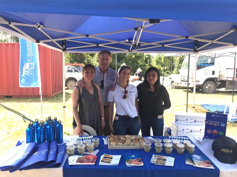 El evento fue organizado por la Junta de Vecinos de los Bajos y patrocinado por la Ilustre Municipalidad de Frutillar. Foto: Salmones Camanchaca.