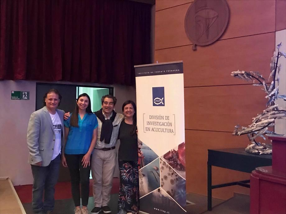 Especialistas a cargo del proyecto del IFOP en taller de difusión. Foto: IFOP.