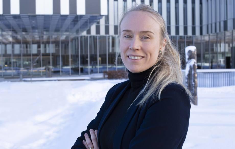 Runa Haug Khoury blir ny bærekraftsdirektør i Aker BioMarine. Foto: BioMarine