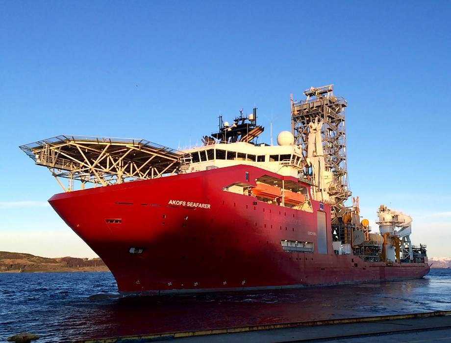 rønnintervensjonsskipet «Akofs Seafarer» går fra kypriotisk til norsk flagg.