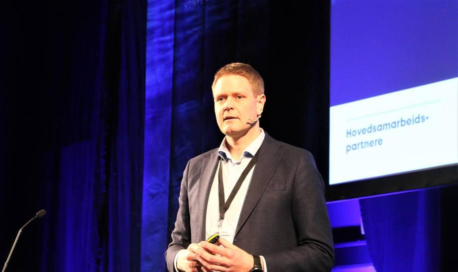 Harald Solberg på Haugesundkonferansen Foto: Helge Martin Markussen