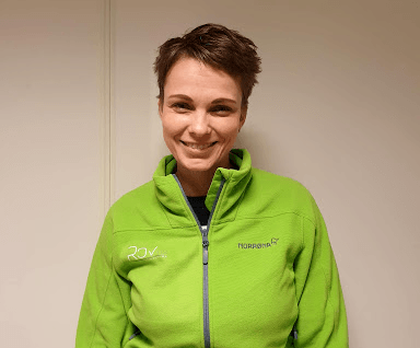 Inspeksjonsselskapet har ansatt Caterina Sunde som ny driftsleder, og kommer fra Fiskeridirektoratet. Foto: ROVas.