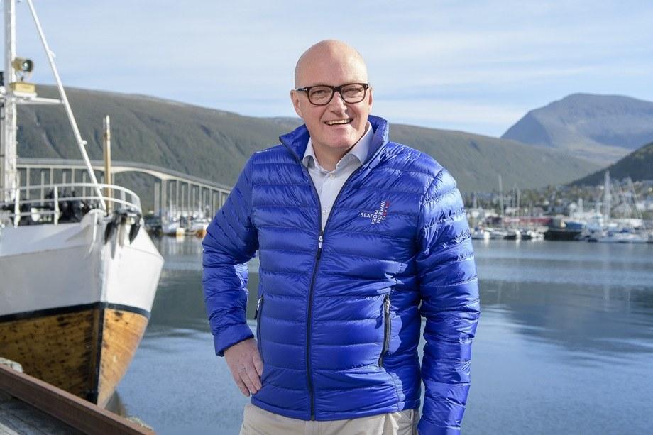 Hans Frode Kielland Asmyhr, Sjømatrådets fiskeri- og sjømatutsending i Storbritannia er glad for at en avtale er på plass. Foto: Norges sjømatråd.