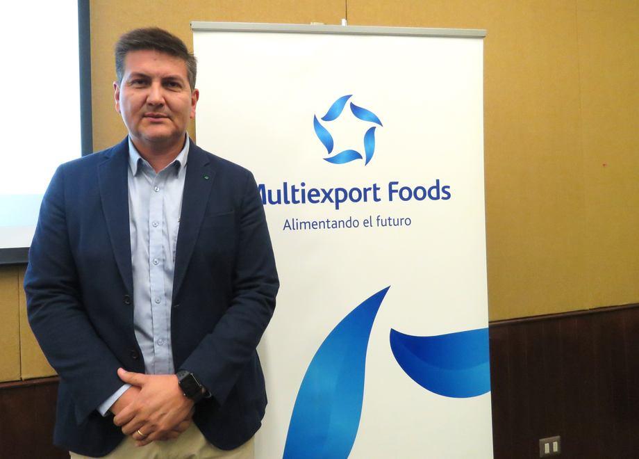 Francisco Lobos, gerente de Sustentabilidad y Asuntos Corporativos de Multiexport Foods. Foto: Archivo Salmonexpert.