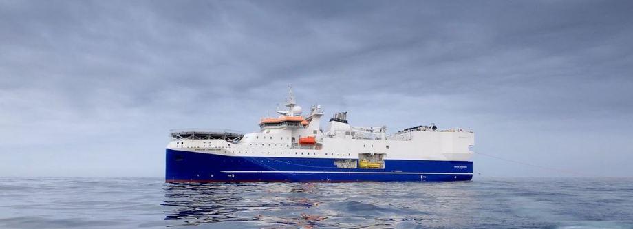 «Amazon Conqueror» er ett av to skip som skal benyttes