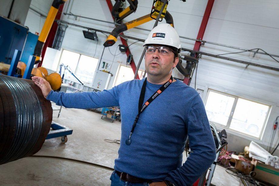 Konsernsjef i PSW Group, Oddbjørn Haukøy etablerer PSW Yard for å bli en komplett leverandør i riggmarkedet. Foto: Yngve Garen Svardal/Avisa Nordhordland