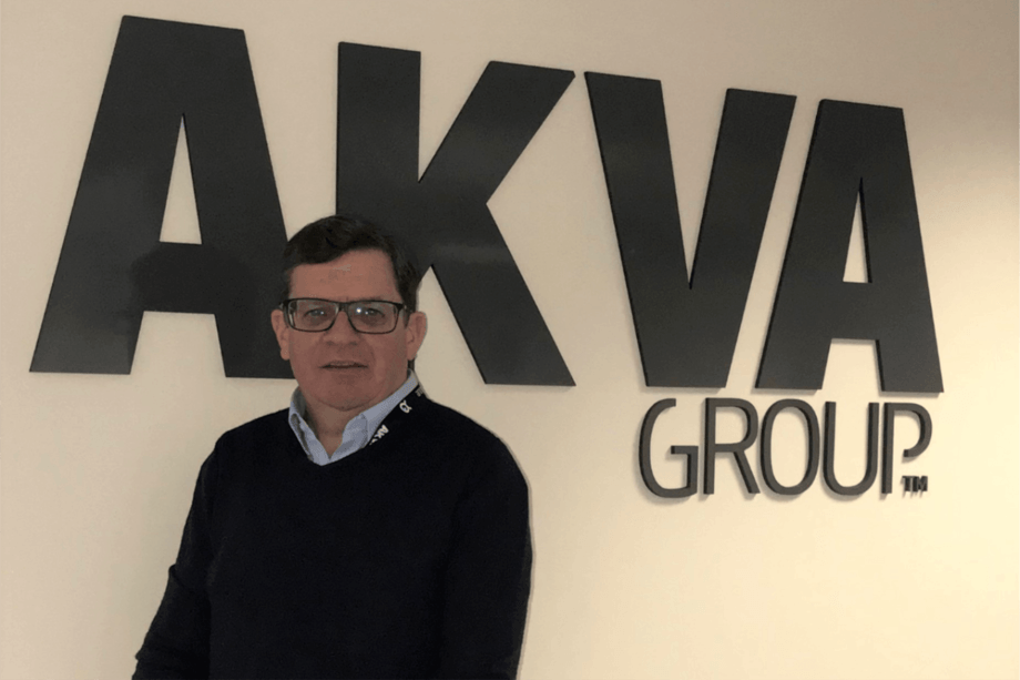 David Peach is AKVA group Scotland's new general manager. Photo: AKVA.