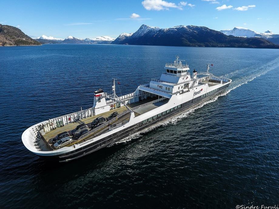 MF «Norangsfjord» Foto: Sindre Furuli
