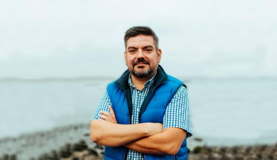 Axel Klimpel, director ejecutivo del Centro de Innovación Acuícola AquaPacífico. Foto: AquaPacífico.