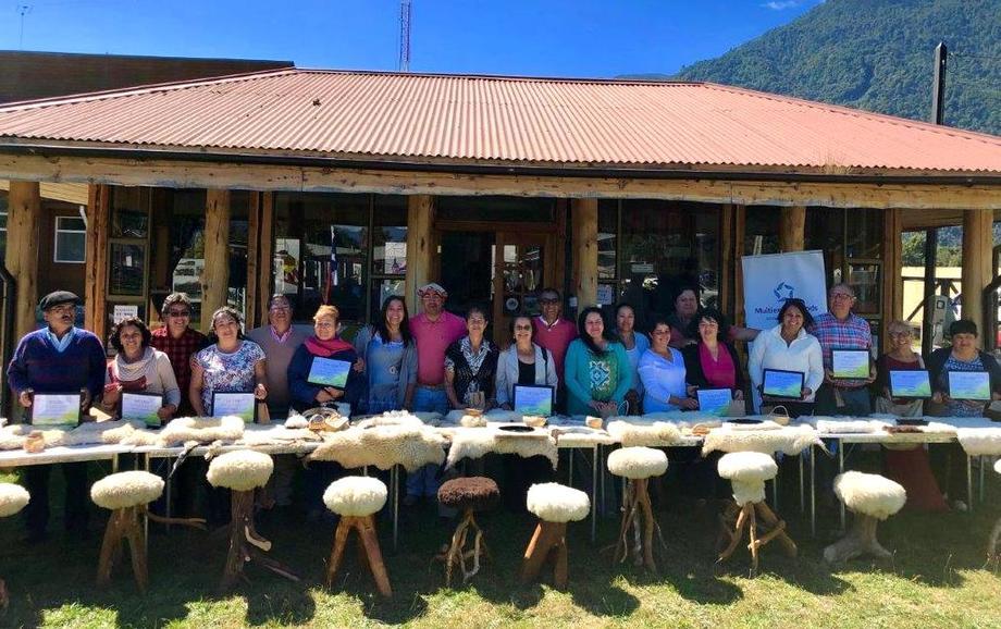 Iniciativa benefició a 17 vecinos de Río Puelo. Foto: Multiexport Foods.
